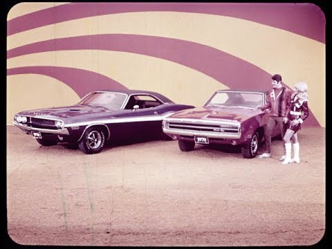 1970 Dodge Challenger R/T and Charger R/T Performance Dealer Promo Film