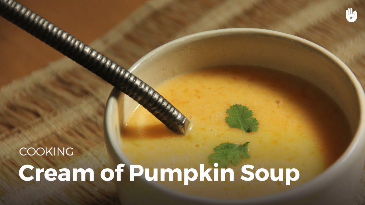 Cream of pumpkin soup youtube forumfinder Choice Image