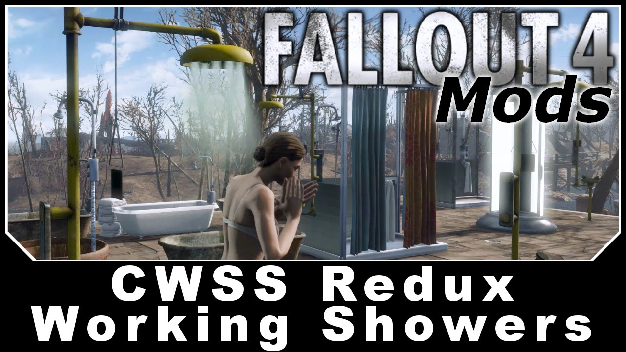 Fallout 4 Mods Cwss Redux Craftable Working Showers