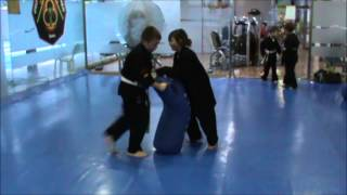 kajukenbo close combat infantil delegacion de murcia.wmv