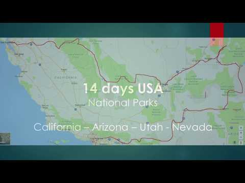 14 Days USA/West - National Parks 2017