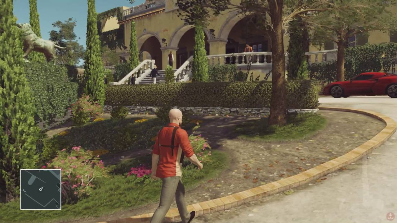 Hitman: Exclusive target - The Congressman - YouTube