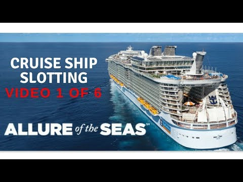 TIGHT or LOOSE #1? CRUISE SHIP CASINO ON ROYAL CARIBBEAN - Episode 1 of 6 - ALL BONUS & LINE-HITS