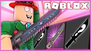 SAW GODLY KNIFE UNBOXING! | Mord-Geheimnis 2 | Roblox