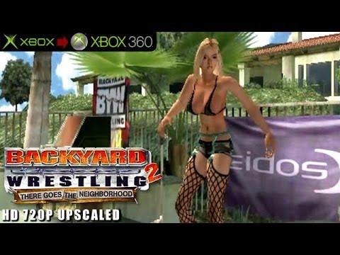 Backyard Wrestling 2 There Goes The Neighborhood  Gameplay Xbox HD 720P Xbox to Xbox 360