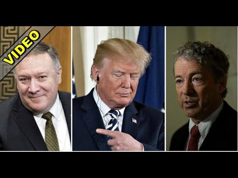 LIBERALS FREAK AS RAND PAUL HELPS TRUMP MOVE POMPEO TO STATE DEPT!