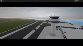 Roblox Vehicle Simulator a Look with a Drone From The Airport Tower