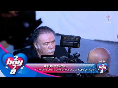 Presencia de Jesús Ochoa en la Asamblea de la Casa del Actor termina en trifulca | Hoy