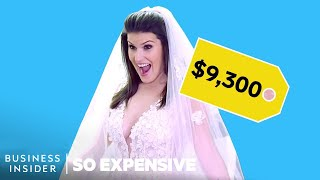 Why Wedding Dresses Are So Expensive | So Expensive