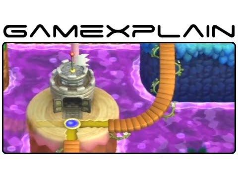 New Super Mario Bros U Complete World Map Gameplay Footage