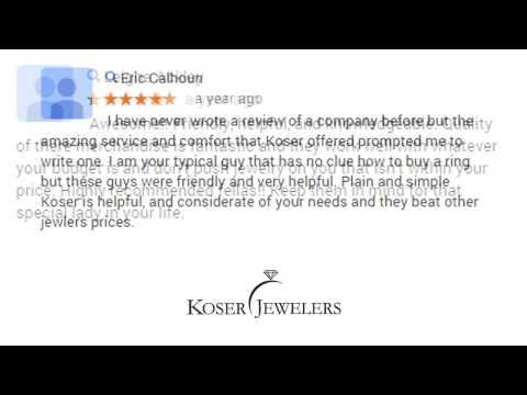 Koser Jewelers - REVIEWS - Mount Joy (PA) Jewelry Store Reviews