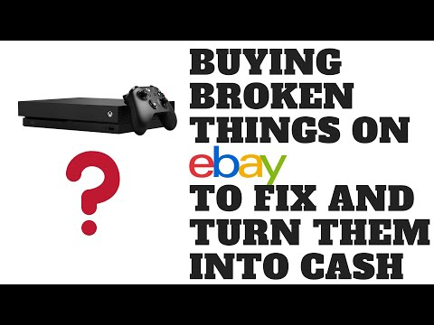 Buying Broken Things on eBay to Fix and Turn Them Into Cash