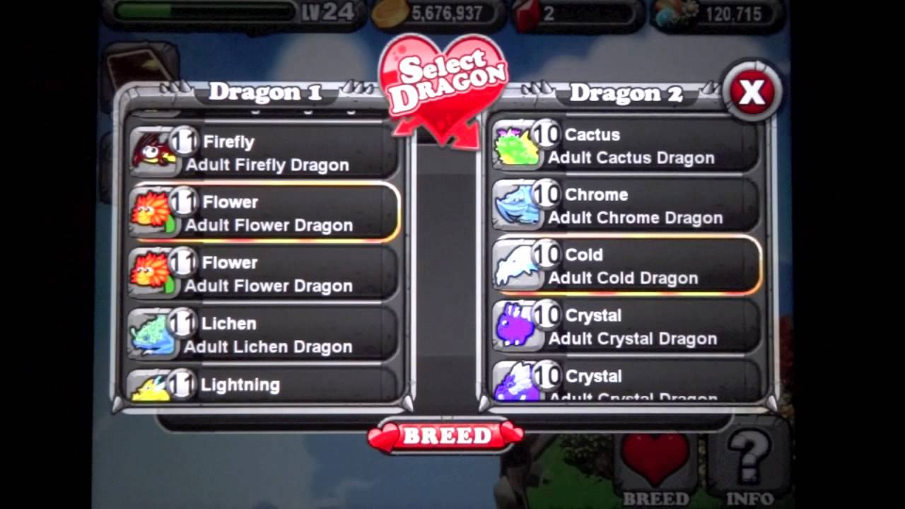 How To Breed A Frostfire Dragon In Dragonvale By Gamamori