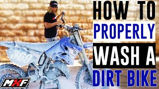 How to Properly Wash a Dirt Bike • 3 Steps to Keep Your Ride Fresh!!