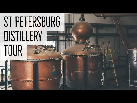 DISTILLERY TOUR: ST. PETERSBURG DISTILLERY