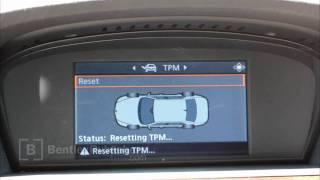 BMW 5 Series (E60, E61) 2004-2010 - Tire Pressure Monitor Reset - DIY Repair