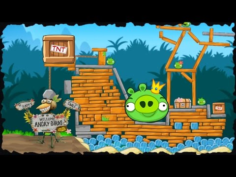 Angry Birds: Bird Island Mobile Game All Levels