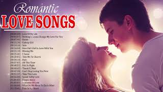 Most Popular English Love Songs Collection - Top Romantic Love Songs Playlist