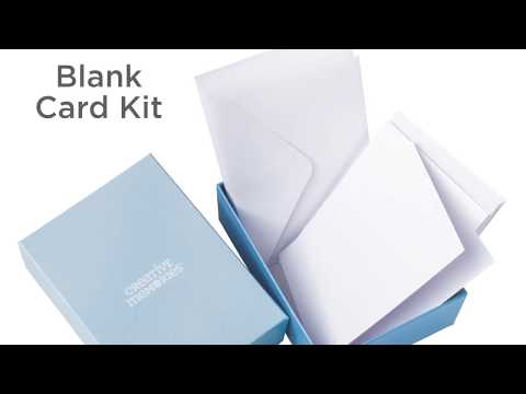 Card Kit- Blank Cards and Envelopes by Creative Memories