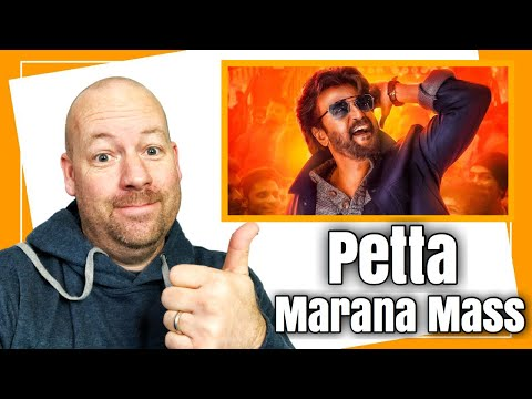 petta---marana-mass-official-video-(tamil)-reaction-by-american-dad