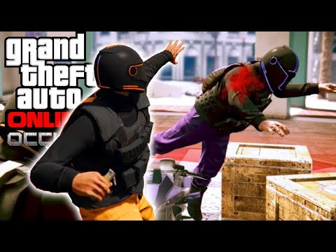 GTA Online OCCUPY ADVERSARY MODE | GTA Online: Life of Crime - #61