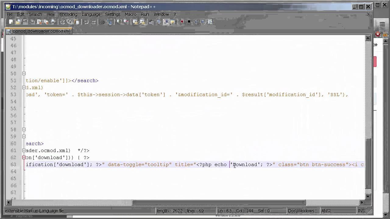 OpenCart - OCMOD Downloader (OC2, OC3)