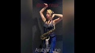 Саксофон. Saxophone. Anastasia Vysotskaya. Arab line.