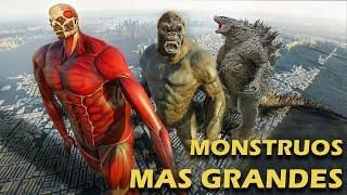 7 Monstruos de la Ficción más GIGANTESCOS