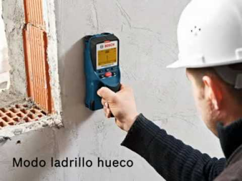 Detector bosch d tect 150 professional baselga lizaga s - Detector de tuberias de agua ...