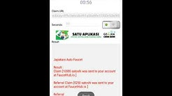Auto CLAIM Faucet Bitcoin, Dogecoin, Eth, Dash DLL di android no root