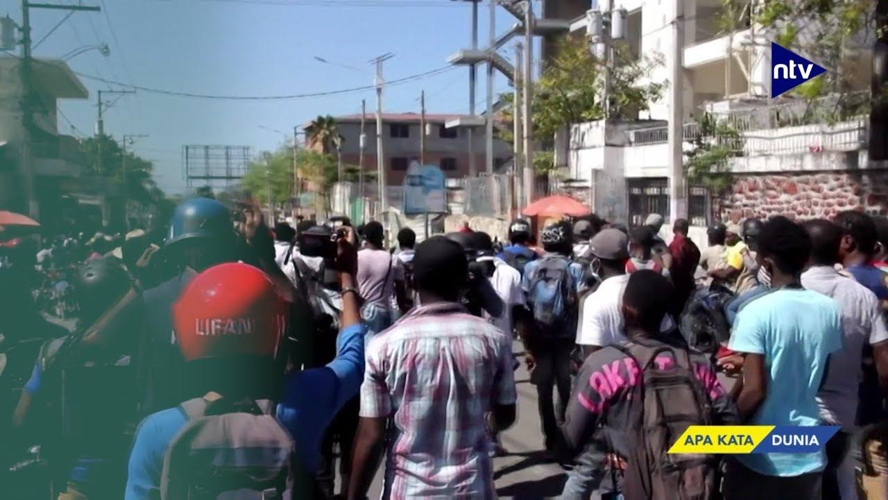Demonstrasi Tuntut Mundur Presiden Haiti Semakin Meningkat