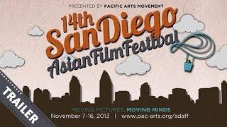 14th San Diego Asian Film Festival Trailer