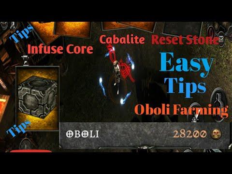 Download Anima ARPG: farming oboli tips 28 to 29k per run of oboli/cabalite, infuse core easy  WeakestGames