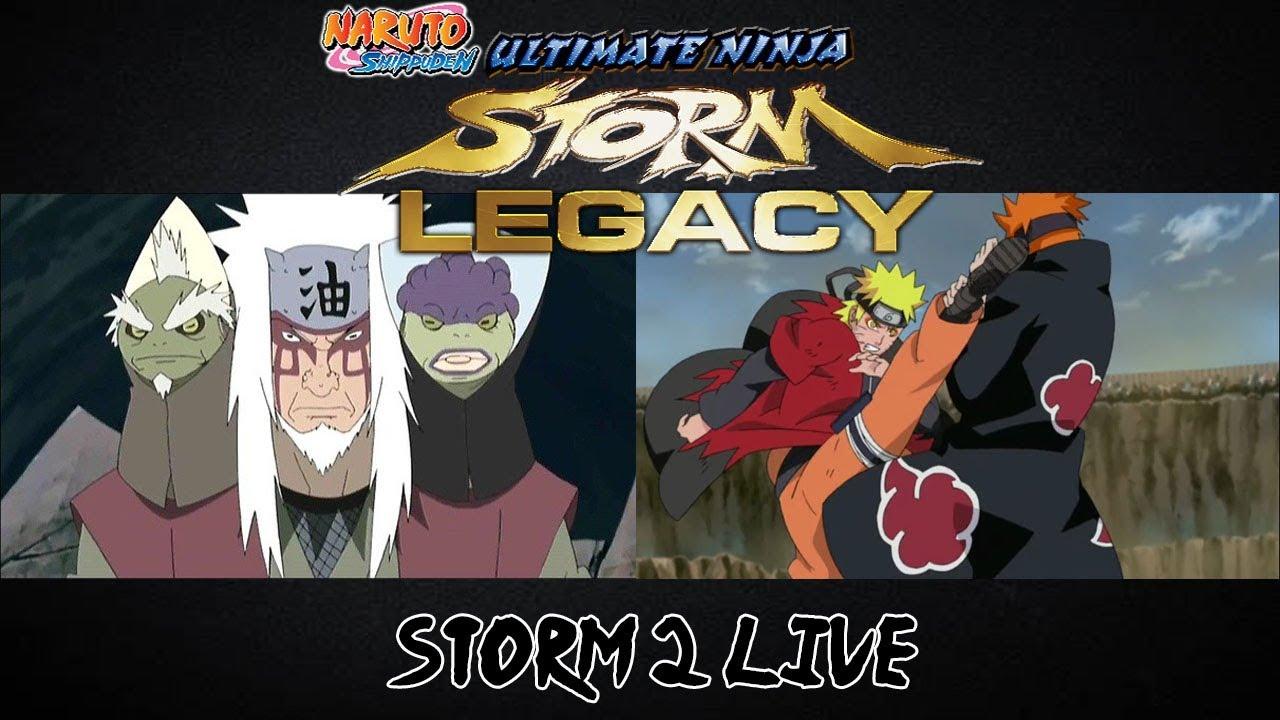 Naruto Shippuden Ultimate Ninja Storm 2 Trilogy Pain Arc