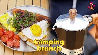 양양 우중 캠핑 / 캠핑요리/ 아침메뉴/ 두부