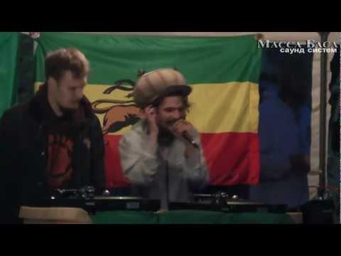 RebelSteppa & Prophet Panama on 'Backyard Reggae Dances' @ 'Точка Отрыва' 1.06.2012