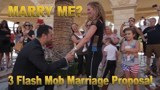 3 Flash Mob Marriage Proposal