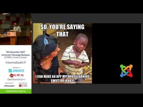 Ionic Joomla! - JoomlaDay Malaysia 2017 - Sam Suresh