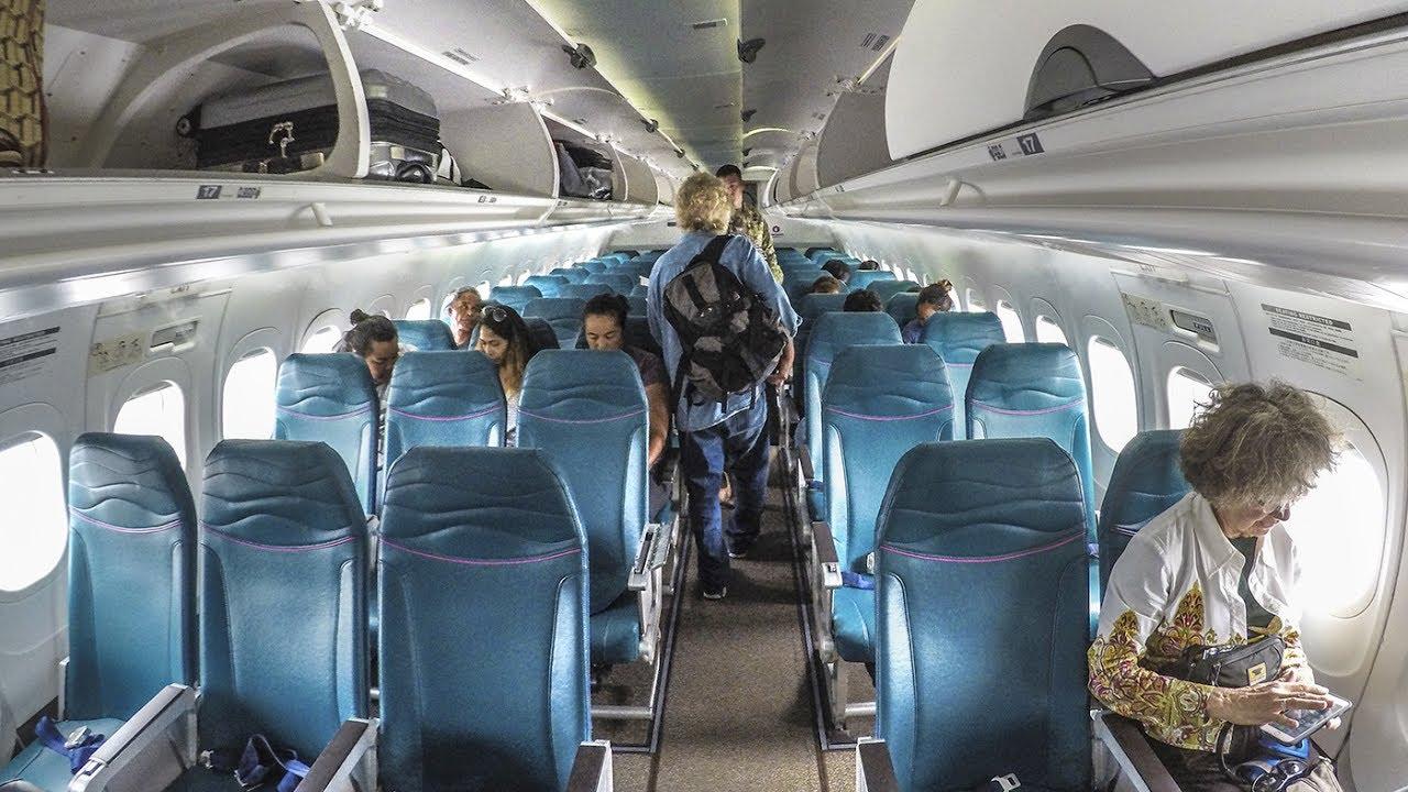Hawaiian Airlines 717 200 Economy Class Ito Hnl