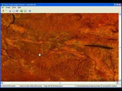 The very large image viewer