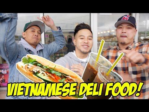 VIETNAMESE DELI FOOD! WHAT DID WE TRY?