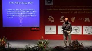 prof bm hegde for appicon 2013 at nimhans bengaluru