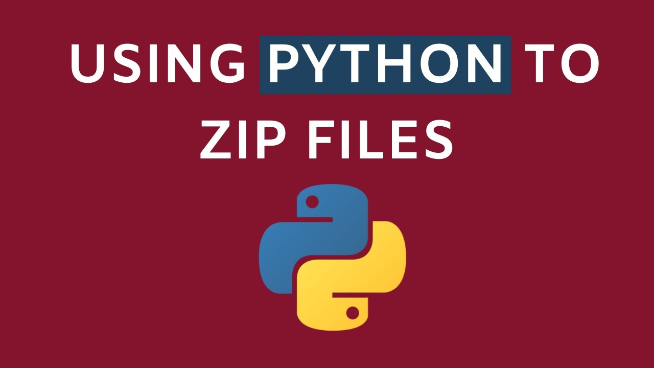 Using Python to Zip Files