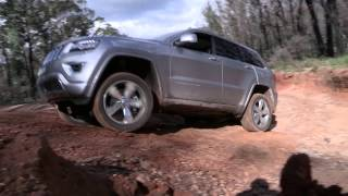 2014 | Jeep | Grand Cherokee Overlander | NRMA driver's seat car review