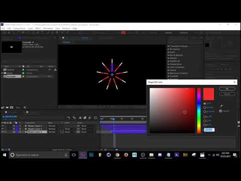 Circle Burst Motion Graphics / Adobe After Effects Tutorial thumbnail