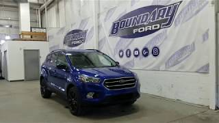 2018 Ford Escape SE W/ 1.5L Ecoboost, Sport Package Overview | Boundary Ford