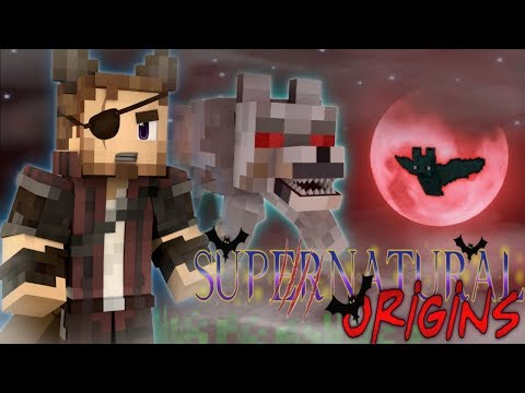 VAMPIRES vs WEREWOLVES - Supernatural Origins #1 (Minecraft Modded Roleplay) thumbnail