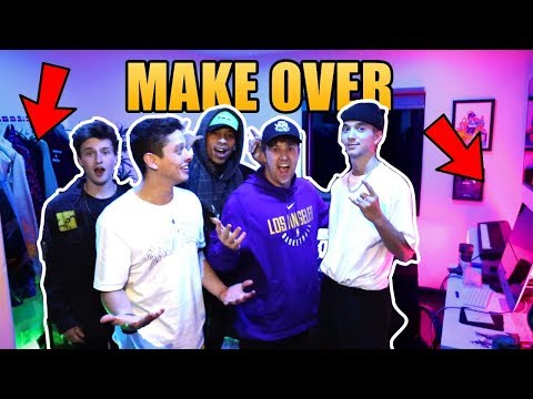 BEST FRIENDS GIVE ME AN EPIC ROOM MAKE OVER!!!