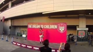 2013.7.27 ファジアーノ岡山vsFC岐阜19:00キックオフ@カンスタ 試合...