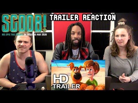 Scoob! (2020) Trailer Reaction